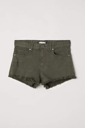 H&M Denim Shorts - Green
