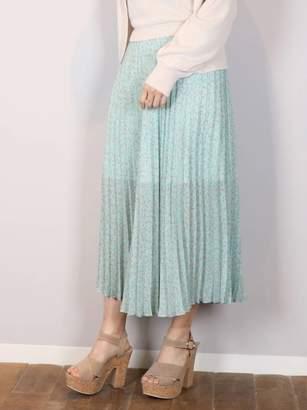 dazzlin (ダズリン) - ダズリン [S]フラワープリーツスカート