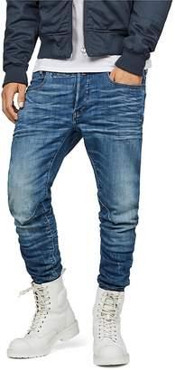G-STAR RAW D-Staq Slim Fit Jeans in Medium Indigo