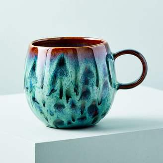 west elm Craftsman Style Mug - Blue Dots