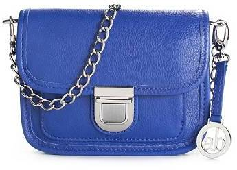Audrey Brooke Pushlock Cross Body Bag