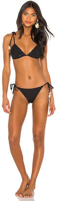 Zimmermann Veneto Scallop Frill Bikini