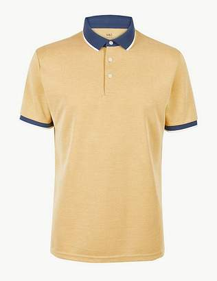Marks and Spencer Modal Rich Polo Shirt