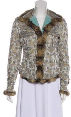 Blumarine Mink & Chinchilla-Blend Jacket