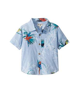 Billabong Kids Sundays Floral Short Sleeve Woven (Toddler/Little Kids)