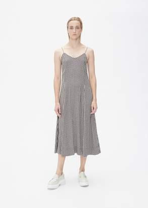 Ganni Sleeveless Check Dress