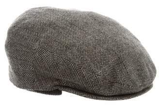 Borsalino Herringbone Wool Hat