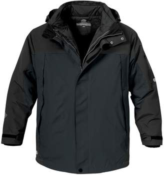 StormTech Mens Fusion 5 in 1 System Parka Hooded Waterproof Breathable Jacket (XL)