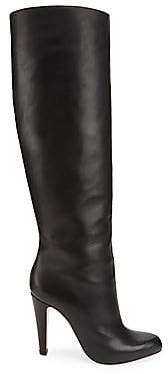Christian Louboutin Women's Marmara 100 Tall Leather Boots