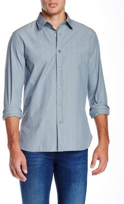 John Varvatos Classic Point Long Sleeve Slim Fit Shirt