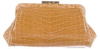 Tiffany & Co. Morgan Crocodile Clutch