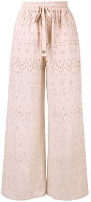 Zimmermann drawstring waist trousers