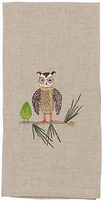 Coral & Tusk Owl Tree Trimmer Tea Towel