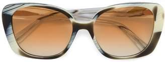 Prism zebra horn monaco oversized sunglasses