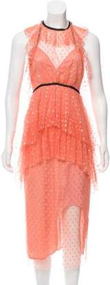 Alice McCall Tiered Polka Dot Dress