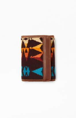 Pendleton Dark Brown Trifold Wallet