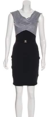 Versace Bodycon Sleeveless Dress