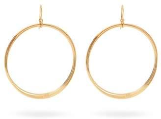 Aurelie Bidermann Thalia Gold Plated Multi Hoop Earrings - Womens - Gold