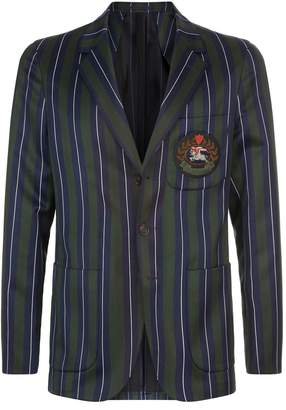 Burberry Stripe Emblem Jacket
