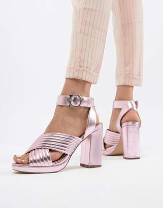 Paul & Joe Sister Metallic Heeled Shoe