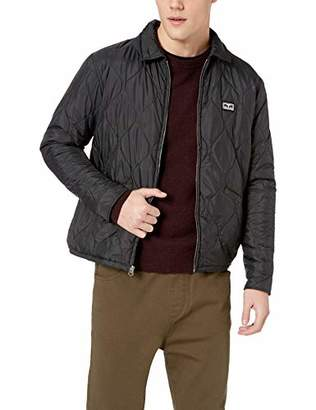 Obey Men's Dropout Liner Cropped Jacket