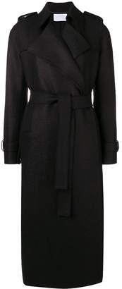 Harris Wharf London classic belted trench coat