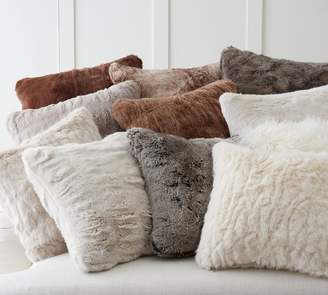 Pottery Barn Faux Fur Pillow Covers
