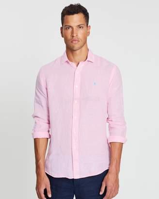 Polo Ralph Lauren Classic Fit Linen Sport Shirt
