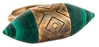 Pamela Love Malachite Cutout Ring
