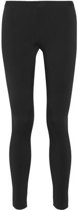 Helmut Lang - Stretch-scuba Jersey Leggings - Black $320 thestylecure.com