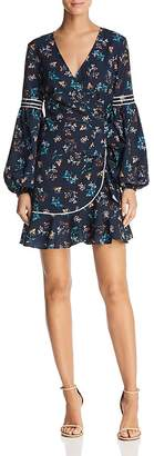The Fifth Label Skyward Floral-Print Wrap Dress