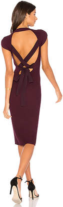 Bailey 44 Releve Sweater Dress in Plum $248 thestylecure.com