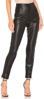 Bardot Faux Leather Tailored Pant