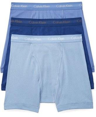 Men's Calvin Klein 3-Pack Boxer Briefs $39.50 thestylecure.com