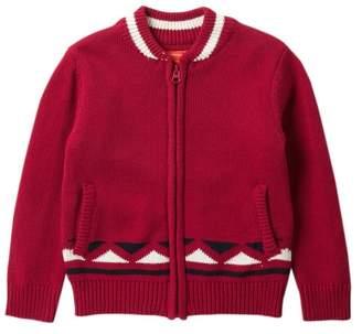 Joe Fresh Zip Up Sweater (Toddler & Little Boys)