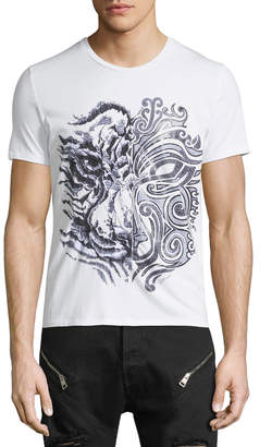 Just Cavalli Tiger Graphic T-Shirt
