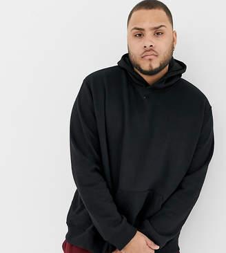 Burton Menswear Big & Tall hoodie in black