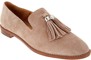 Franco Sarto Suede Loafers with Tassels -Hadden