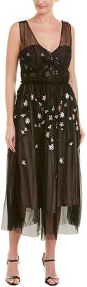 Parker Black Midi Dress