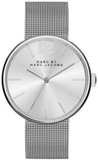 Marc by Marc Jacobs Peggy Stainless Steel Mesh Bracelet Watch $200 thestylecure.com