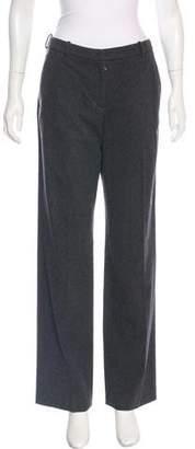 Narciso Rodriguez Mid-Rise Wide-Leg Pants