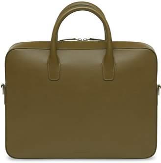 Mansur Gavriel Calf Briefcase - Olive