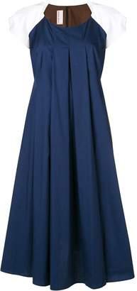 Antonio Marras colour block flared dress