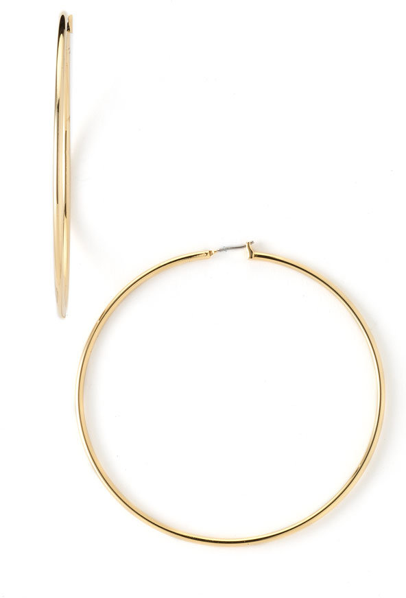 Lauren by Ralph Lauren Tube Hoop Earrings