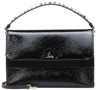 Christian Louboutin Loubiblues leather shoulder bag