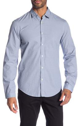 BOSS Baldovino Geo Print Modern Fit Shirt
