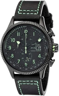Hunter AVI-8 Men's AV-4036-02 Hawker Analog Display Japanese Quartz Green Watch
