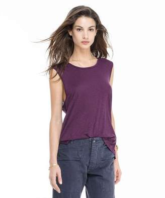 Todd Snyder + Champion: Womens Women's Muscle Tee in Plum