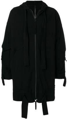 Barbara I Gongini hanging drawstring jacket