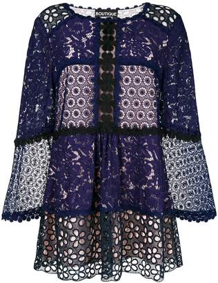 Moschino broderie anglaise blouse
